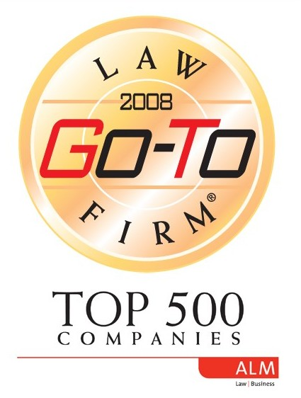 Go-To Law Firm of the Top 500 Companies