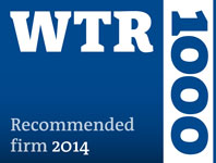 2014 WTR 1000 Recommended Firm
